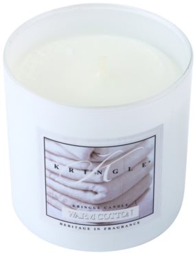 Kringle Candle Warm Cotton vonná svíčka  malá 1