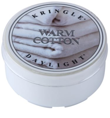Kringle Candle Warm Cotton čajová svíčka