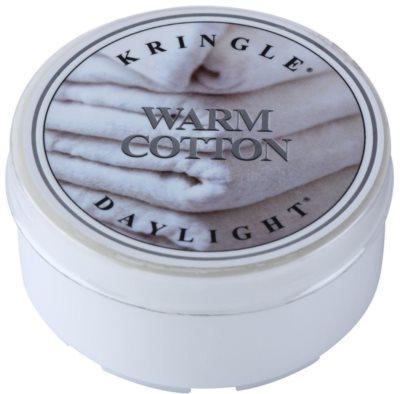 Kringle Candle Warm Cotton vela do chá