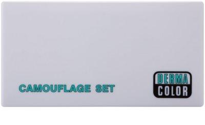 Kryolan Dermacolor Camouflage System paletka 3 korektorów z lusterkiem i aplikatorem 1