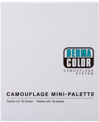 Kryolan Dermacolor Camouflage System Minipalette mit Korrektoren 4