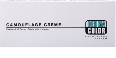 Kryolan Dermacolor Camouflage System 12 árnyalatú korrektor paletta 3