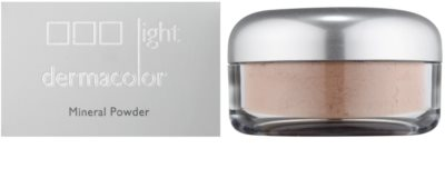 Kryolan Dermacolor Light Mineral puder sypki z pędzelkiem 2