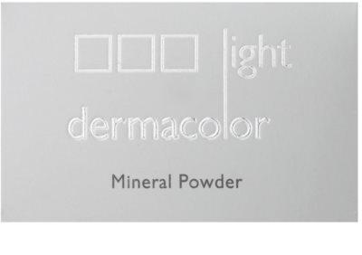 Kryolan Dermacolor Light Mineral puder sypki z pędzelkiem 3