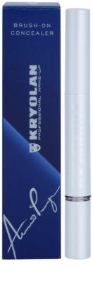 Kryolan Basic Face & Body Korrektor gegen Augenringe mit Pinselchen 2