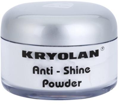 Kryolan Basic Face & Body pó fixador com efeito matificante