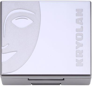 Kryolan Basic Face & Body kompaktno rdečilo s čopičem in ogledalom 2
