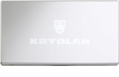 Kryolan Basic Face & Body Palette mit Rouge in 3 Farben 1