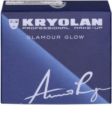 Kryolan Basic Face & Body iluminador, bronzeador e blush em um 3