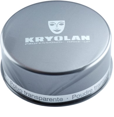 Kryolan Basic Face & Body pó solto transparente