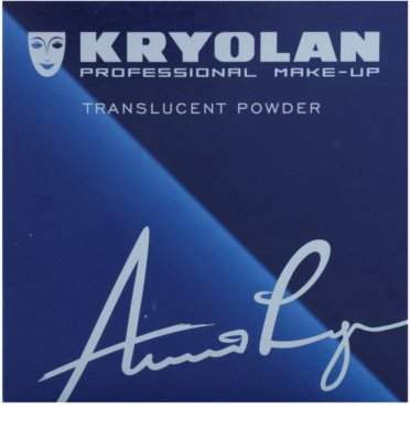 Kryolan Basic Face & Body pó solto transparente 1