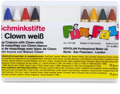 Kryolan Fun Faze smink ceruzák gyerekeknek