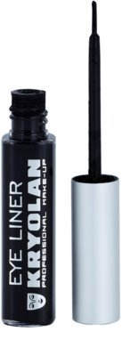 Kryolan Basic Eyes eyeliner cu aplicator