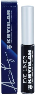 Kryolan Basic Eyes eyeliner cu aplicator 2