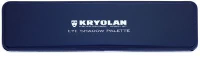 Kryolan Basic Eyes paleta de sombra de olhos 5 cores 1