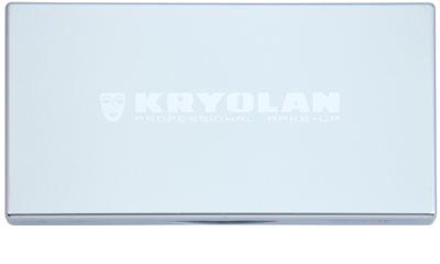 Kryolan Basic Eyes paleta de sombras  com espelho e aplicador 1