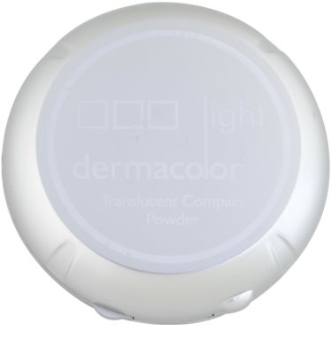 Kryolan Dermacolor Light Day pudra compacta cu oglinda si aplicator 3