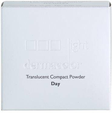 Kryolan Dermacolor Light Day pudra compacta cu oglinda si aplicator 4