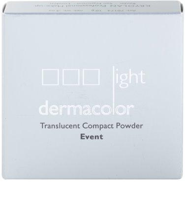 Kryolan Dermacolor Light Event pó compacto com espelho e aplicador 4