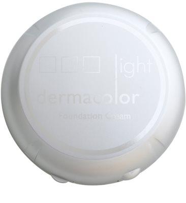 Kryolan Dermacolor Light компактна тональна крем-пудра з дзеркальцем та аплікатором 3