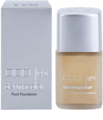 Kryolan Dermacolor Light fluid make-up SPF 12 1
