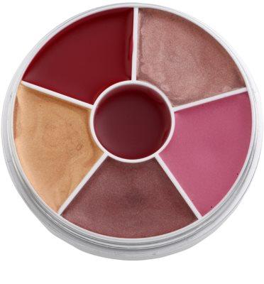 Kryolan Basic Lips Palette mit Lipgloss