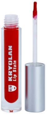Kryolan Basic Lips flüssiger Lippenstift für einen langanhaltenden Effekt 1