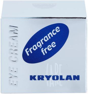 Kryolan Private Care Face крем против бръчки за околоочния контур 3