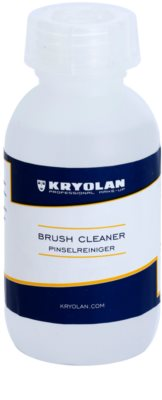 Kryolan Basic Removal emulsão de limpeza antibacteriana para pinceis embalagem pequena
