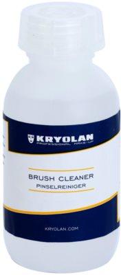 Kryolan Basic Removal perie de curățare antibacteriana pachet mic