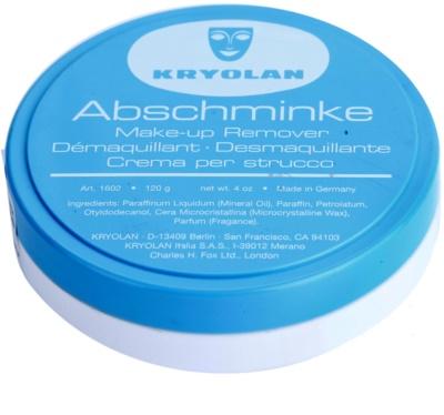Kryolan Basic Removal preparat do demakijażu trudnych do zmycia kosmetyków duże opakowanie
