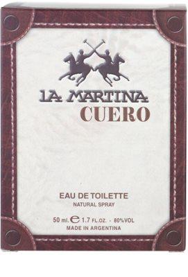 La Martina Cuero Hombre eau de toilette férfiaknak 4