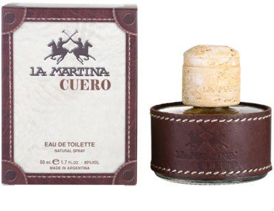 La Martina Cuero Hombre eau de toilette férfiaknak