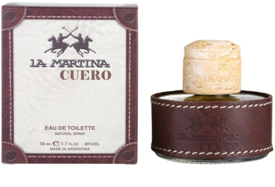 La Martina Cuero Hombre Eau de Toilette für Herren