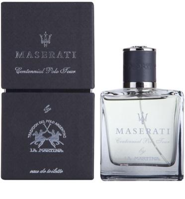 La Martina Maserati Centennial Polo Tour eau de toilette para hombre