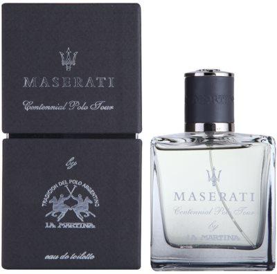 La Martina Maserati Centennial Polo Tour Eau de Toilette para homens