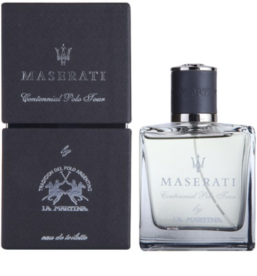 La Martina Maserati Centennial Polo Tour Eau de Toilette pentru barbati