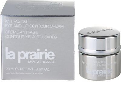 La Prairie Anti-Aging creme rejuvenescedor para contorno dos olhos e lábios 3