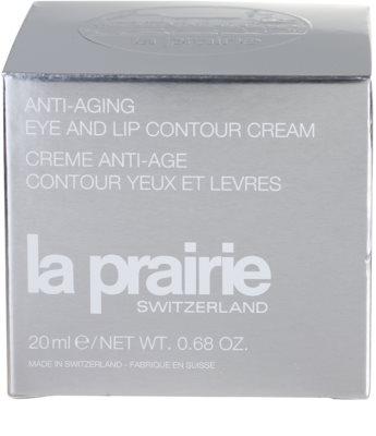 La Prairie Anti-Aging creme rejuvenescedor para contorno dos olhos e lábios 4