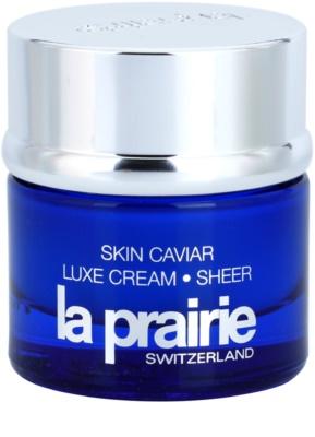La Prairie Skin Caviar Collection crema cu efect de lifting cu caviar