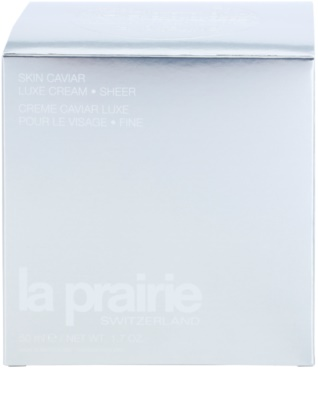La Prairie Skin Caviar Collection lifting krema s kaviarjem 4