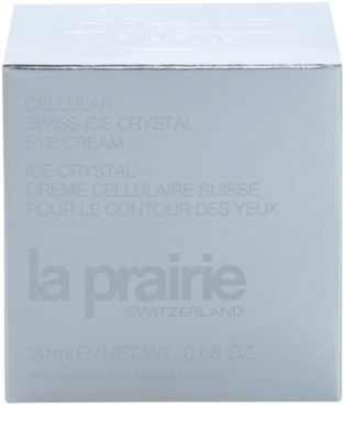 La Prairie Cellular Swiss Ice Crystal crema para contorno de ojos antiarrugas, antibolsas y antiojeras 3