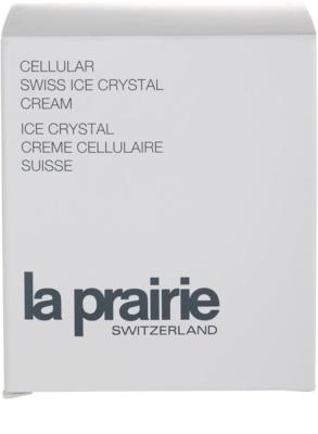 La Prairie Cellular Swiss Ice Crystal tiefenwirksame feuchtigkeitsspendende Creme gegen Hautalterung 4