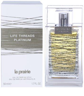La Prairie Life Threads Platinum eau de parfum para mujer