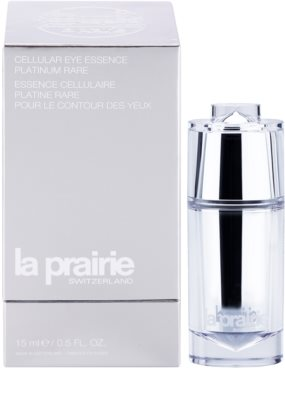 La Prairie Cellular Platinum Collection szemkörnyék-fiatalító ápolás a ráncok azonnali kisimításáért 1