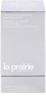 La Prairie Cellular Platinum Collection szemkörnyék-fiatalító ápolás a ráncok azonnali kisimításáért 2