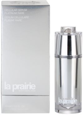 La Prairie Cellular Platinum Collection sérum refirmante  para pele radiante 2