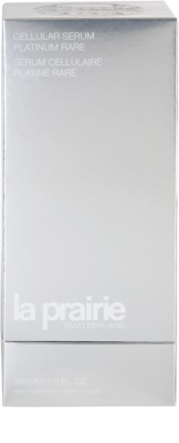 La Prairie Cellular Platinum Collection sérum refirmante  para pele radiante 4