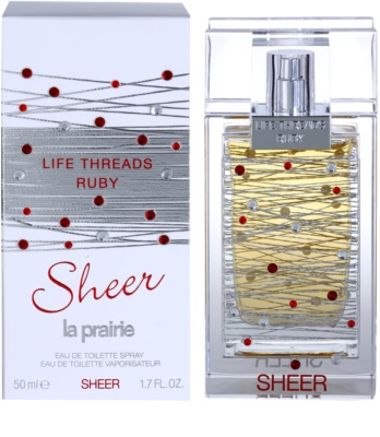 La Prairie Life Threads Sheer Ruby eau de toilette nőknek