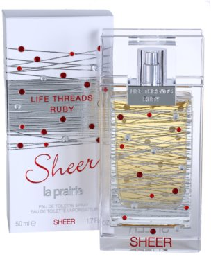La Prairie Life Threads Sheer Ruby eau de toilette nőknek 1